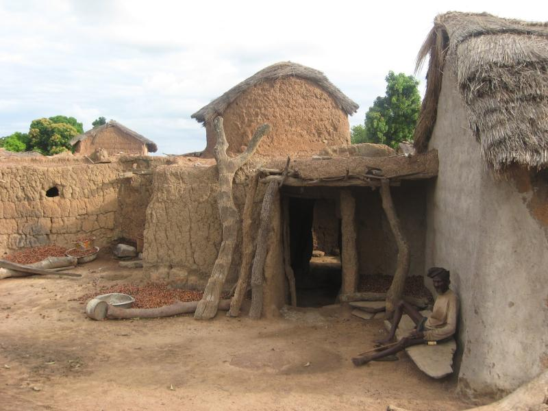 Village in North Ghana